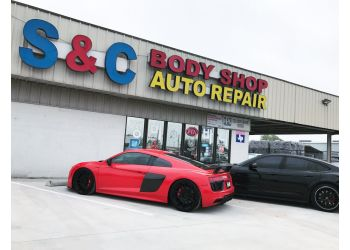 Garland auto body shop S&C Body Shop and Auto Repair