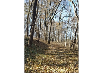 Davenport hiking trail SCHUETZEN PARK
