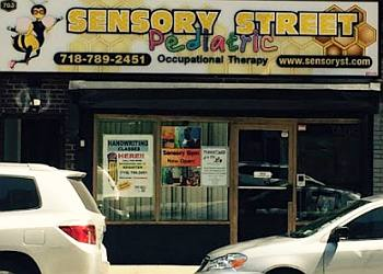 New York occupational therapist SENSORY STREET PEDIATRIC OCCUPATIONAL THERAPY