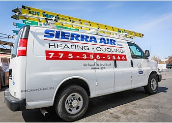 Reno hvac service  SIERRA AIR INC.