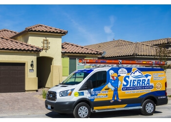 Las Vegas hvac service SIERRA LLC AIR CONDITIONING & HEATING, LLC