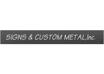Jersey City sign company SIGNS & CUSTOM METAL,CO.