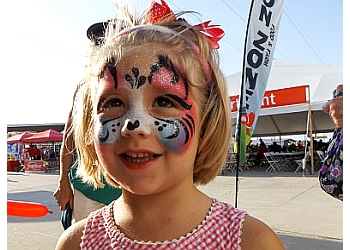 Aurora face painting SIMPLY SMILES