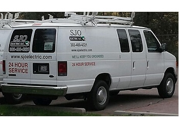 Arvada electrician SJO Electric LLC.
