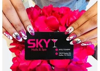 Dallas nail salon SKY NAILS & SPA