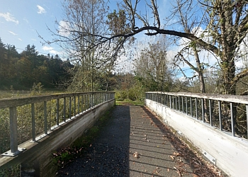 Kent hiking trail SOOS CREEK PARK