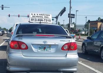 Tampa driving school S & S Driving School