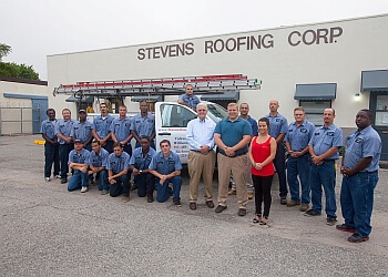 Norfolk roofing contractor STEVENS ROOFING CORPORATION