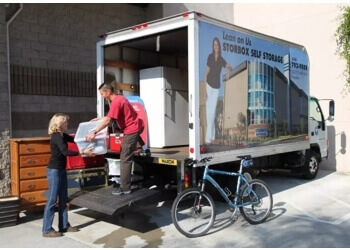 Pasadena storage unit STORBOX Self Storage