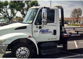 Pomona towing company STS Towing Service and Roadside Assistance