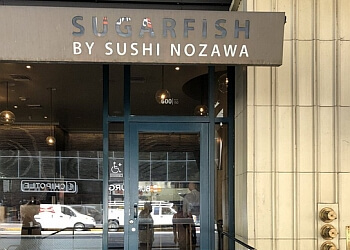 Los Angeles sushi SUGARFISH by sushi nozawa