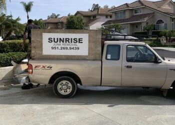 Moreno Valley junk removal SUNRISE JUNK REMOVAL & HAULING