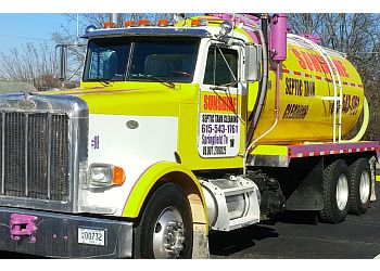 Nashville septic tank service SUNSHINE SEPTIC CLEANING