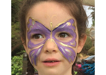 Boise City face painting Sacred Muse  Face Painting