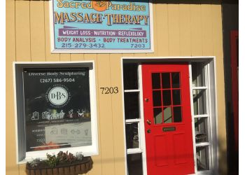 Philadelphia massage therapy Sacred Paradise Massage Therapy