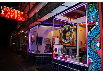 Sacred Rose Tattoo Berkeley Tattoo Shops