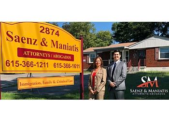 Nashville immigration lawyer   Saenz & Maniatis PLLC