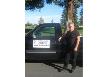 San Jose chimney sweep Safeguard Chimney Sweep Co.