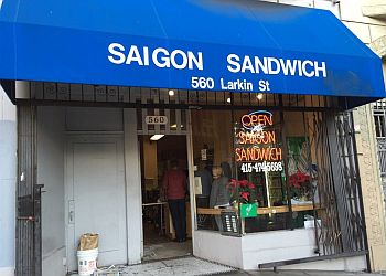 San Francisco sandwich shop Saigon Sandwich