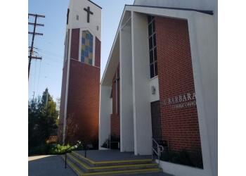 Santa Ana church Saint Barbara Catholic Church