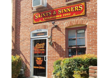 Baltimore tattoo shop Saints & Sinners Tattoo Studio