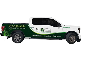 Irving landscaping company Sal's Landscape & Tree Service