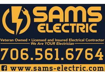 Columbus electrician Sams Electric