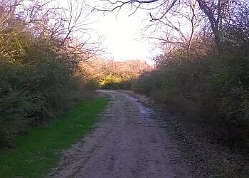 Mesquite hiking trail Samuell Farm Trail