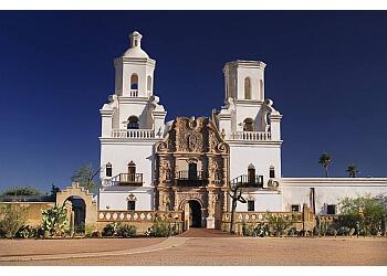 Tucson church San Xavier Del Bac