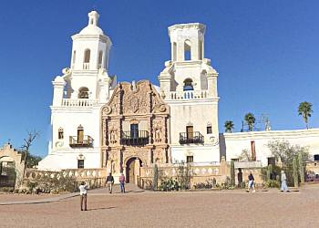 San Xavier del Bac Tucson Landmarks