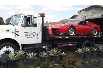 Moreno Valley towing company Sanchez Towing