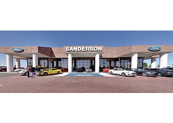 Glendale car dealership Sanderson Ford