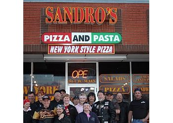 Norman pizza place Sandro's Pizza and Pasta