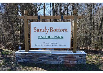 Hampton hiking trail Sandy Bottom Nature Park