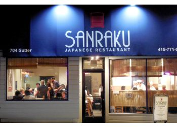 San Francisco japanese restaurant Sanraku