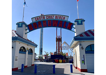 San Jose amusement park Santa Cruz Beach Boardwalk