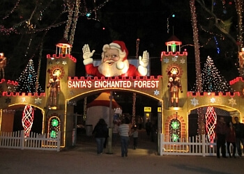 Miami amusement park Santa's Enchanted Forest