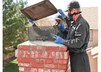 Las Vegas chimney sweep Santa's Little Helper Chimney Cleaning & Repair