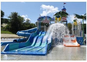 Rockford amusement park Santa's Village Azoosment & Water Park