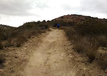 Orange hiking trail Santiago Oaks Regional Park Trail