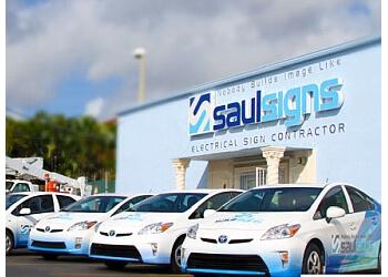 Hialeah sign company Saul Signs Master, Inc.