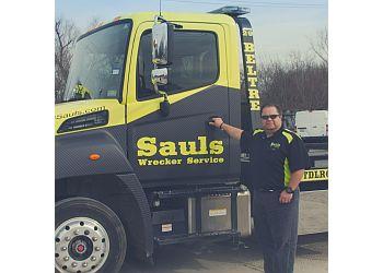 McKinney towing company Sauls Wrecker Service