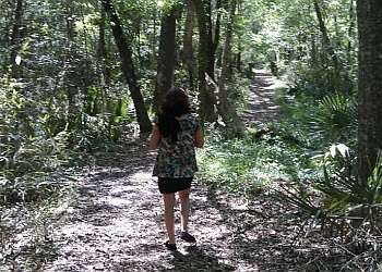 Savannah hiking trail Savannah Ogeechee Canal Trail