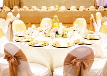Honolulu event rental company Savannah's Chair Cover Rentals & Events