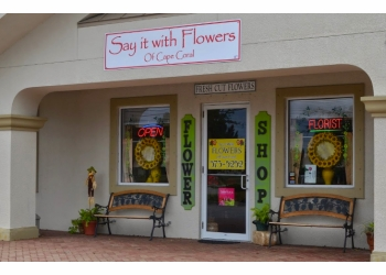 Cape Coral florist Say It With Flowers