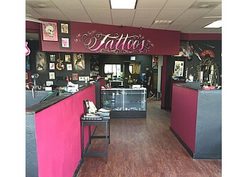 Pasadena tattoo shop Scarlets Web Tattoo Parlor