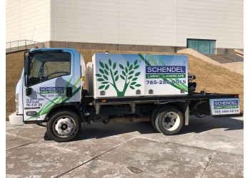 Topeka landscaping company Schendel Lawn and Landscape