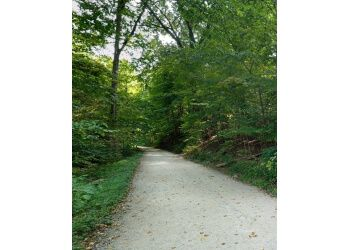 Pittsburgh hiking trail Schenley Park
