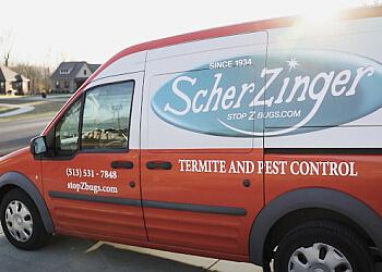 Cincinnati pest control company Scherzinger Pest Control