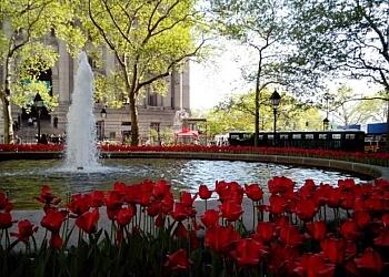 Syracuse public park Schiller Park